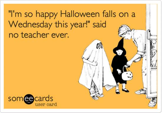 Halloween Memes for Teachers