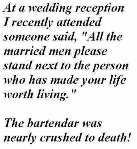 Bartender Wedding Jokes Funny Quotes Funny Wedding Speeches