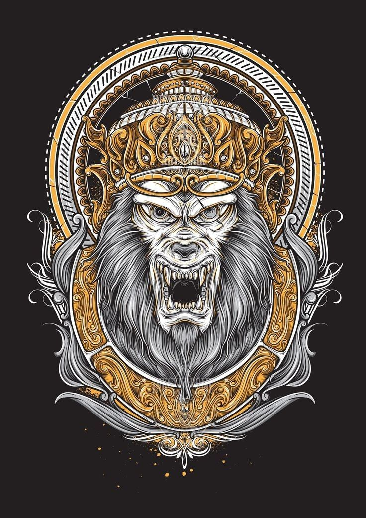 Pin by Haryram Suppiah on Ape, Monkey & Gorilla Canvas