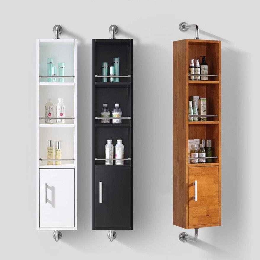 Colonne salle de bain rotative 360 dégrés avec miroir en ...