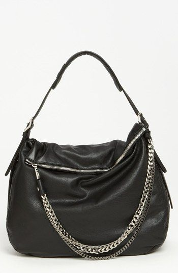 b5657f82d6 Jimmy Choo  Boho - Large  Leather Hobo available at  Nordstrom -  only in  my dreams! Lol but soooo pretty