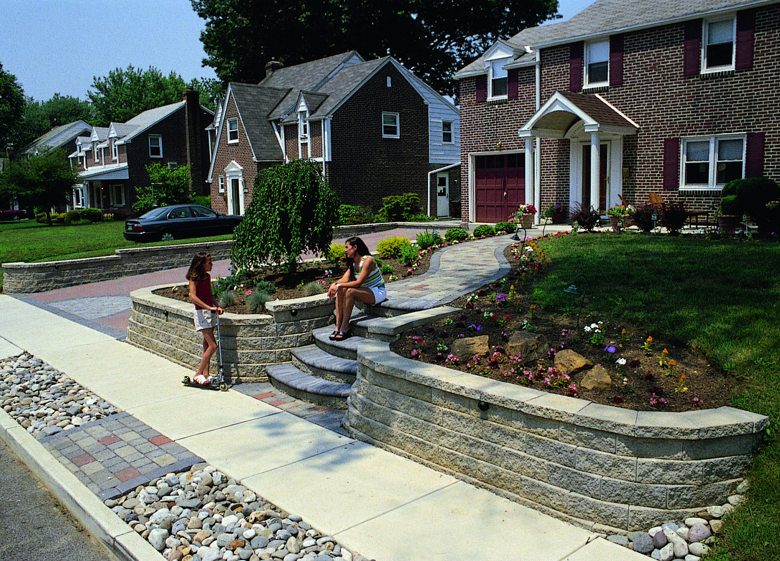 Home And Garden Design Ideau0027s | Idea | Front Yard Retaining Wall