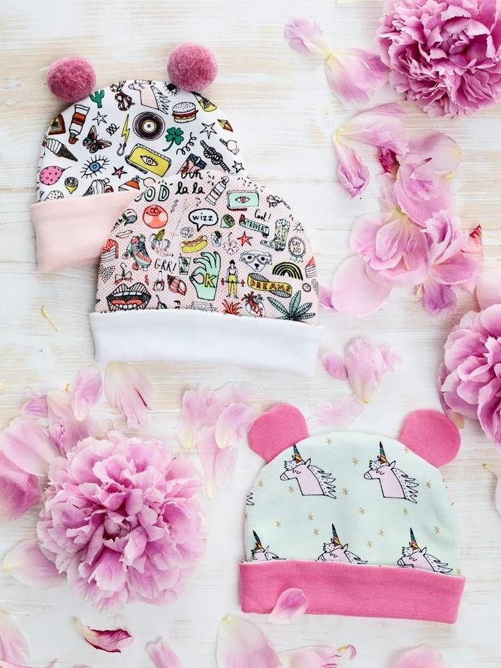 Baby-Mützen | nähen | Pinterest | Costura