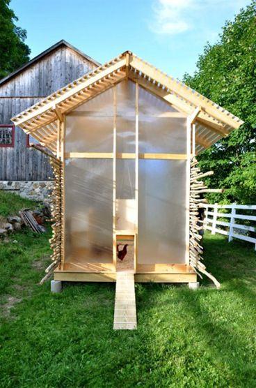 Designer Hühnerstall chicken chapel book indd hühnerställe hühnerstall
