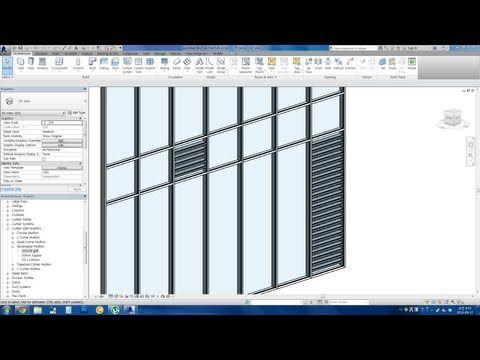 Revit Tips Easy Louver Window Making Youtube Louver Windows Revit Tutorial Architecture Program