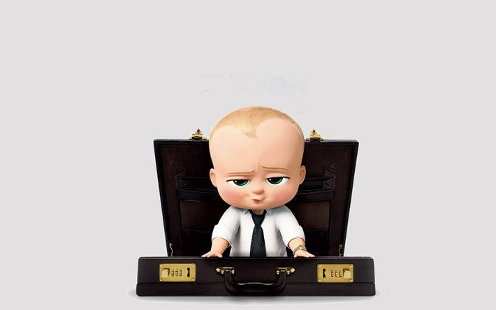 Download Wallpapers The Boss Baby 2017 Main Character 4k