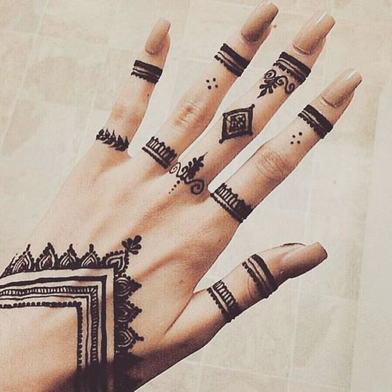 Simple Mehndi Designs For Hands Mehndi Designs In 2018 Pinterest