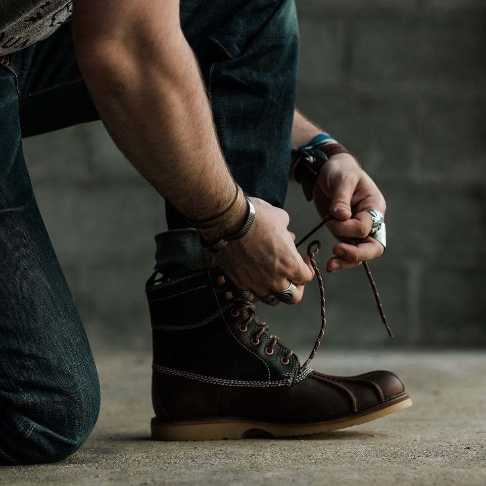 9807d8443ae The Felix Duck Boot. Our favorite all-weather shoe @wolverine did a ...