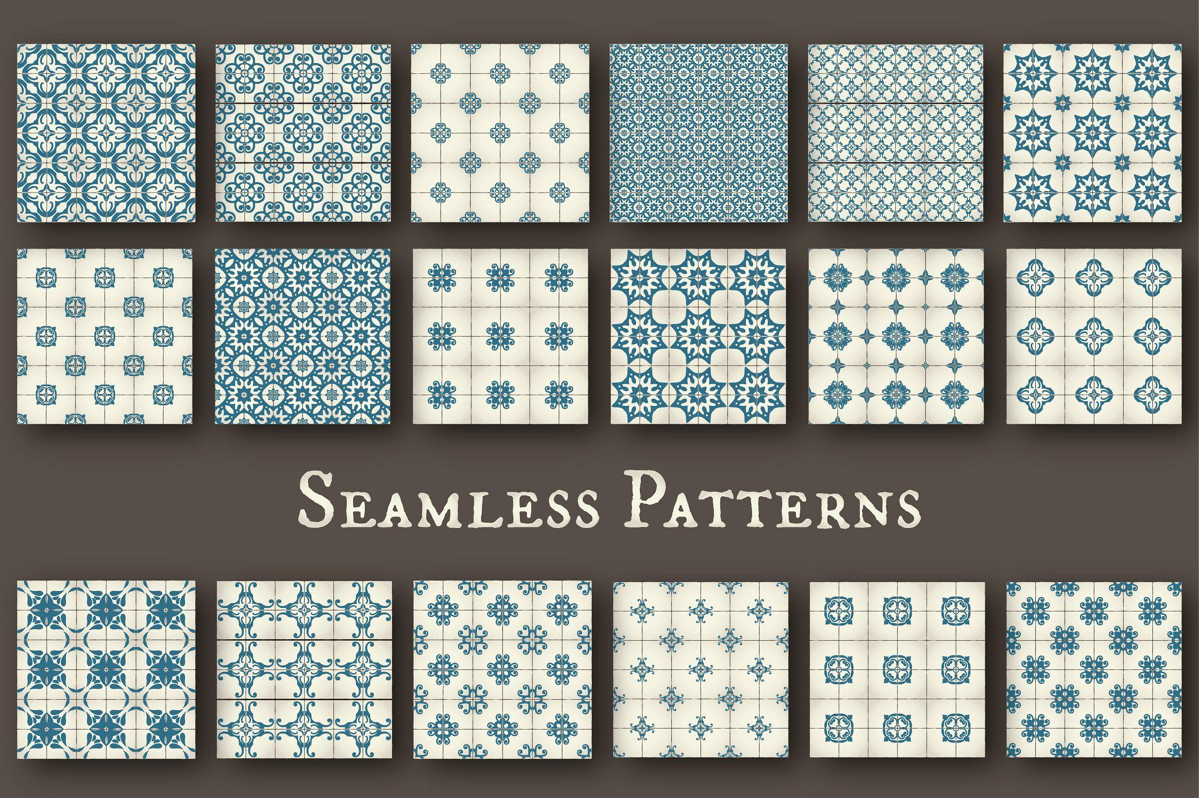 Tile Templates & Seamless Patterns Seamless patterns