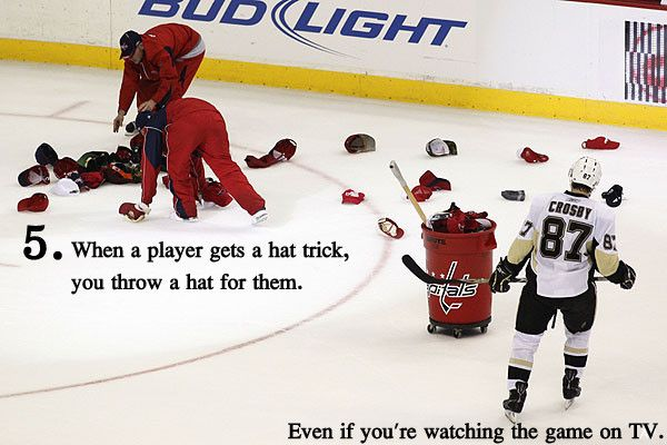 I M Not Sure What Is Better It S A Caps Hat Trick Or The Fact It S Against Crosby Pittsburgh Penguins Hockey Hockey Mom Caps Hockey