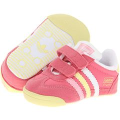 adidas dragon infant pink