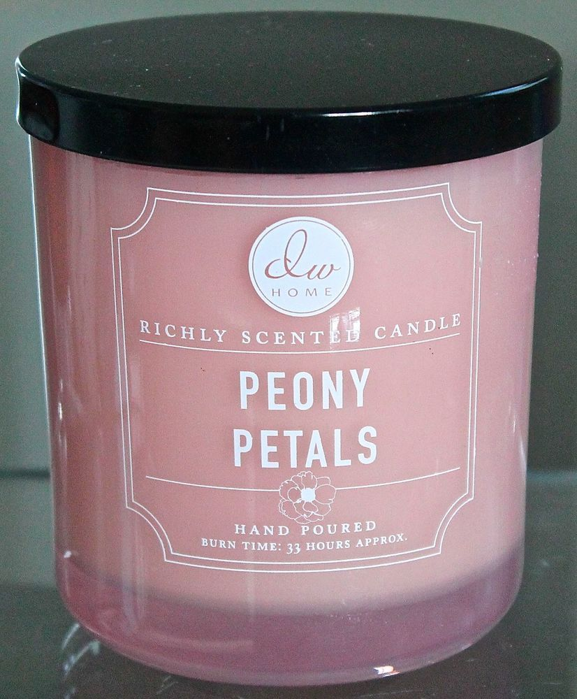 DW Home Candle Peony Petals New 1 Wick 33 Hours DW5101 ...