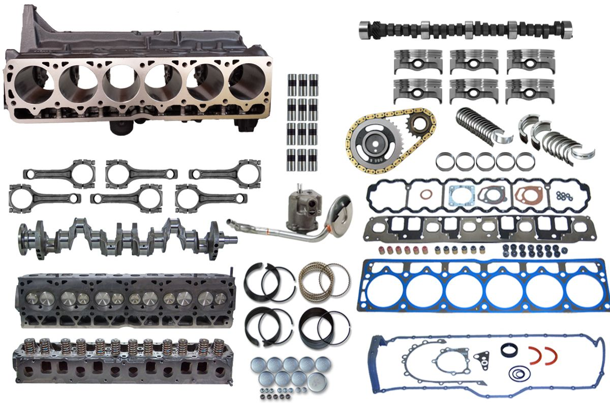Jeep Stroker Complete Engine Upgrade Kit 4 0 To 4 6 4 7 Titan