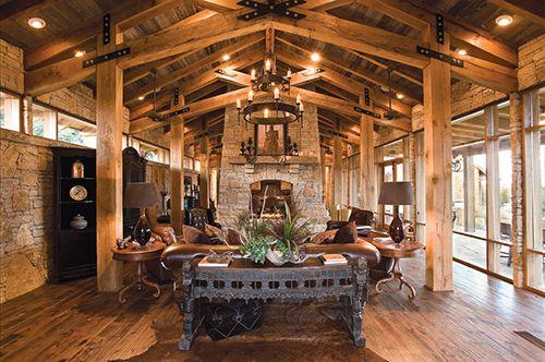The Desantis Family Home On Texas Possum Kingdom Lake Ranch House House Rustic House