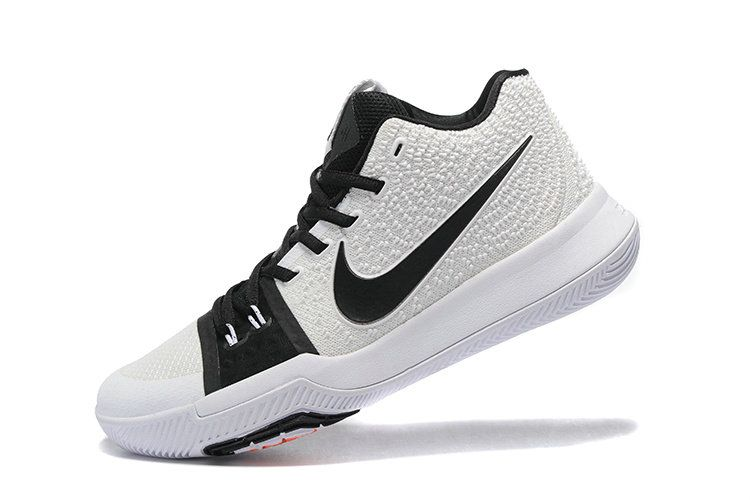 d46fc619897 New Kyrie Shoes Kyrie 3 III Black White Irving Shoes 2017
