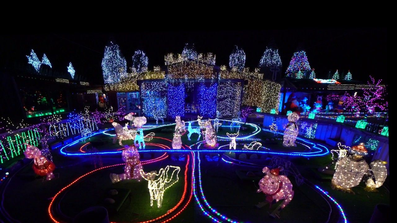 Christchurch Christmas Lightshow 2016 New Zealand | New Zealand ...