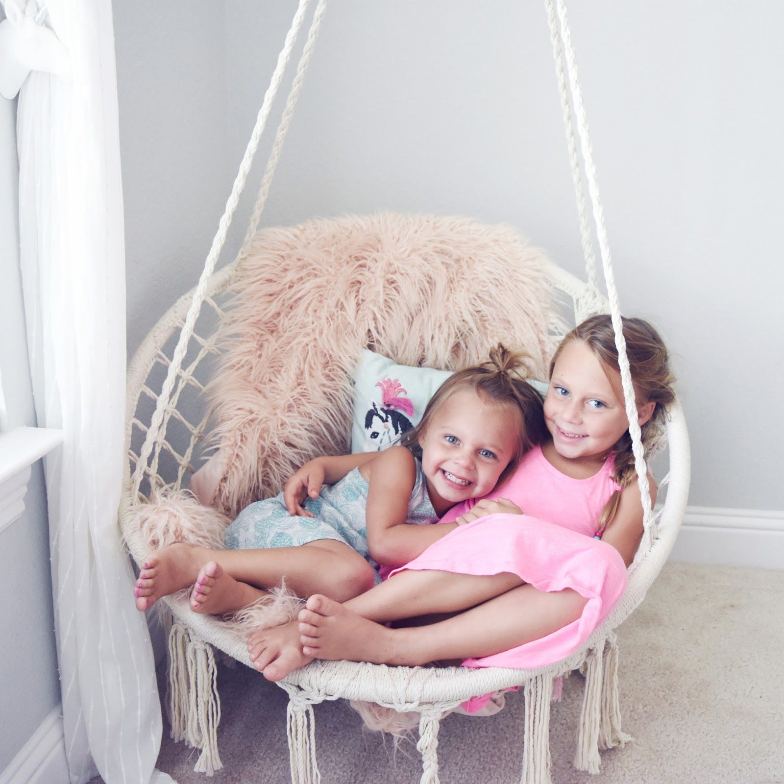 Pillow Thought Children S Swinging Chair Swinging Chair Swing Chair Bedroom Bedroom Chair