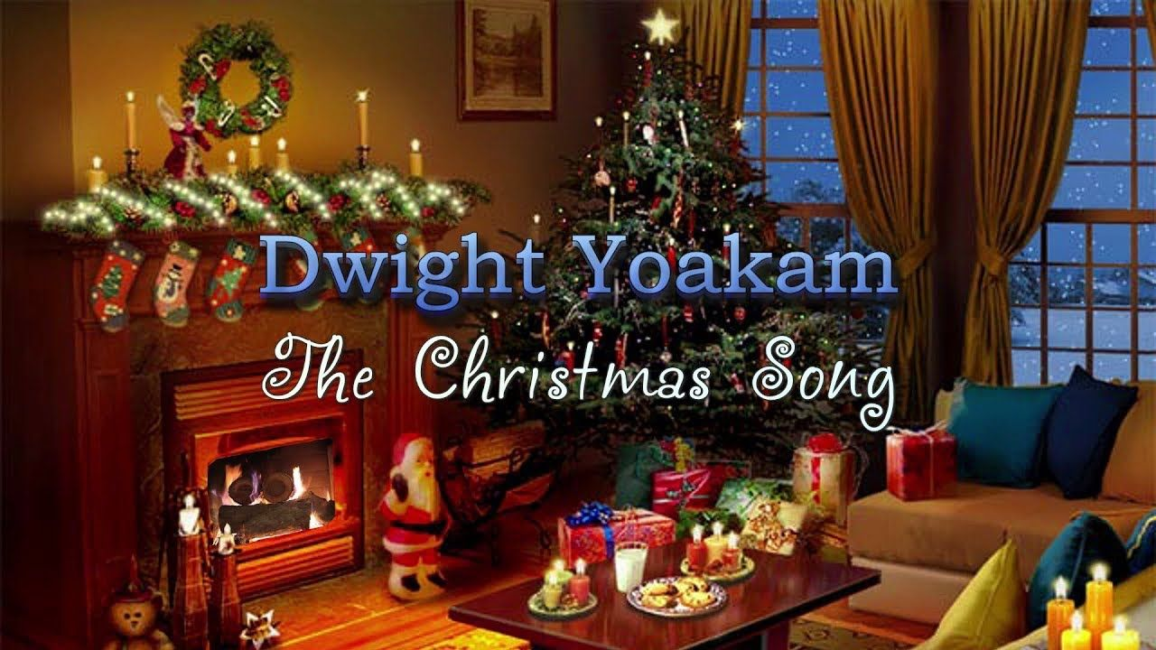 Dwight Yoakam The Christmas Song (Lyric Video