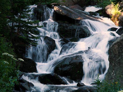 Glacier Falls, RMNP, Colorado