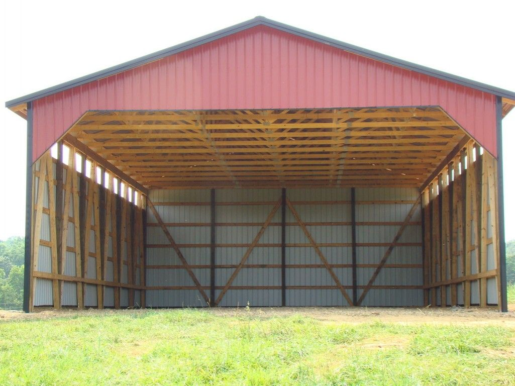 Dig Easy To Hay Barn Building Plans Barn Plans Hay Barn Pole