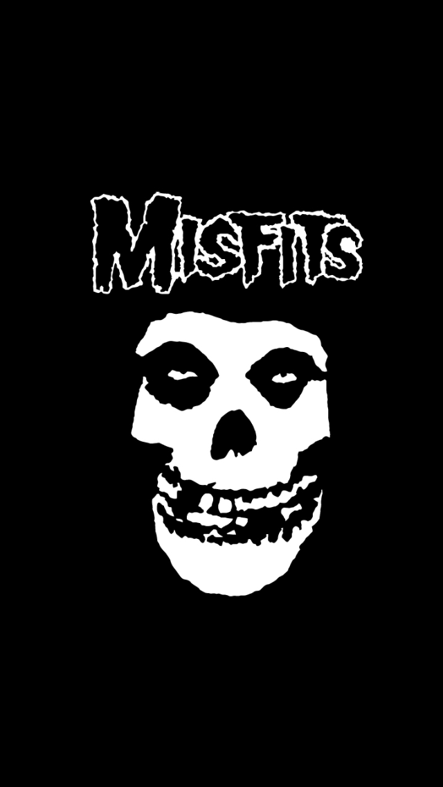 The Misfits Band Wallpapers Misfits Wallpaper Fabric Poster