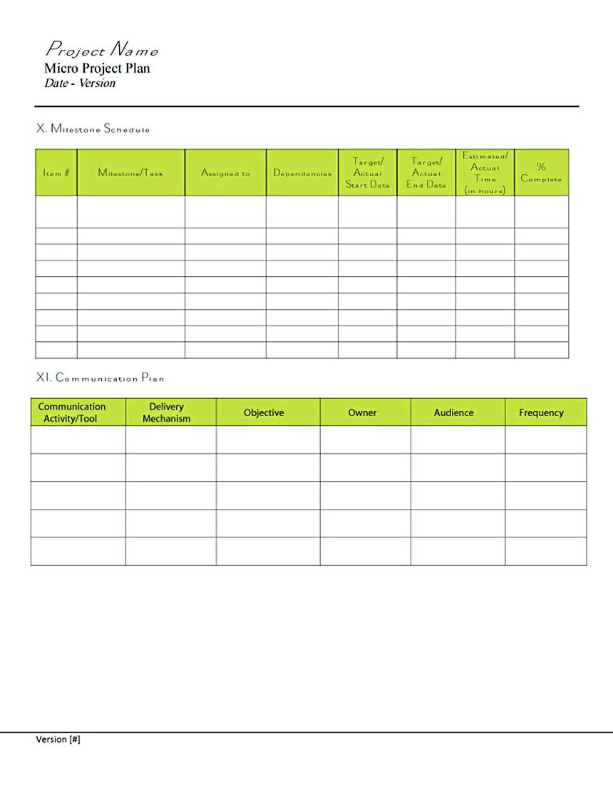 Project Plan Template Excel  Types Of Project Budget Template And