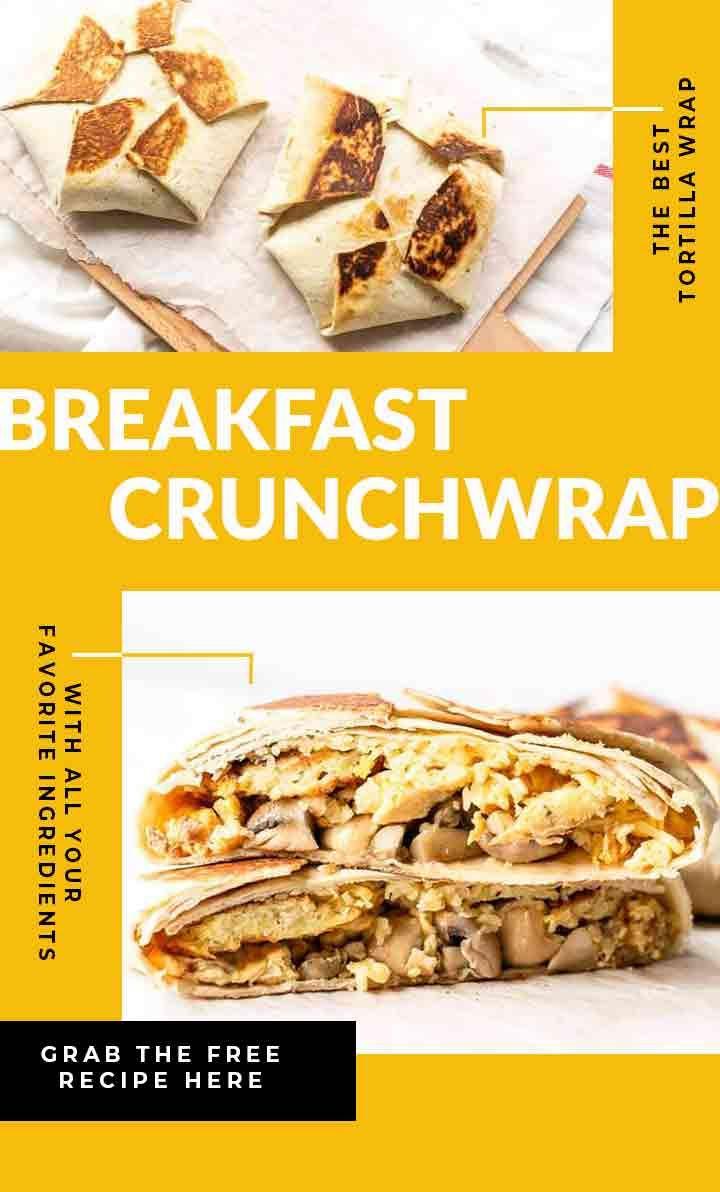Breakfast crunchwrap recipe breakfast crunchwrap food