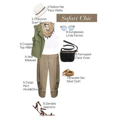 How To Wear Rolled Cuff Cargo Pants For A Safari Chic Look And Style.