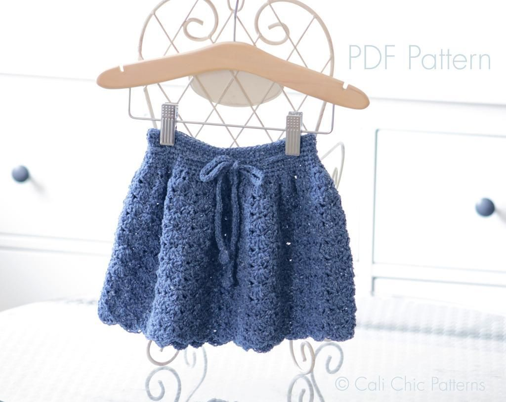Cali Girl Crochet Girls Skirt #217 CCP | Cali girl, Crochet girls ...
