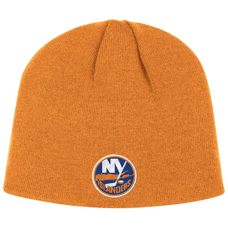 f28c07a1e New York Islanders Reebok Basic Knit Beanie - Orange | Products ...