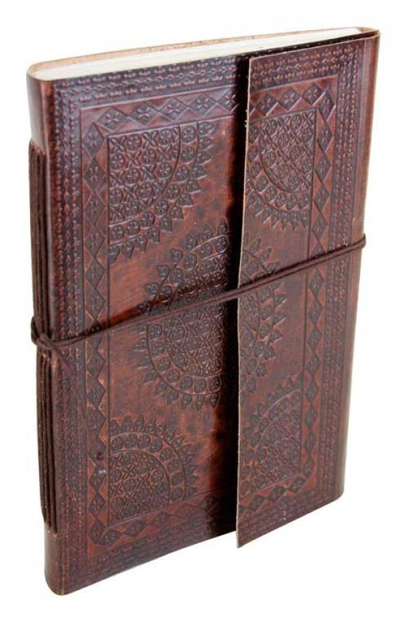 Leather Notebook Pattern Large