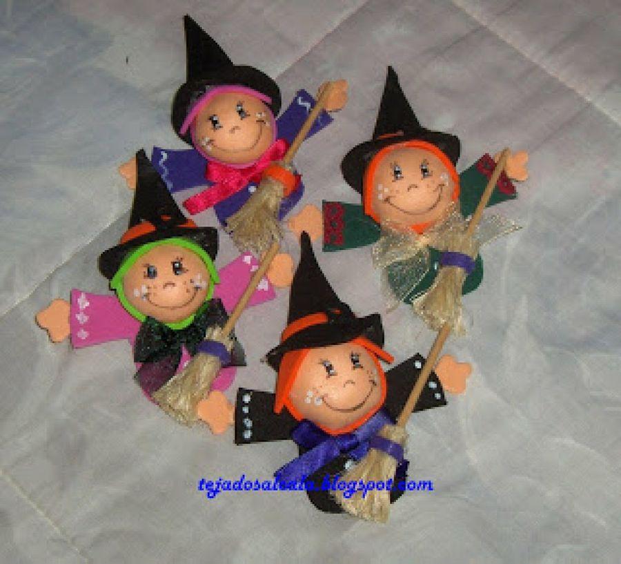 Manualidades en goma eva para halloween - Pinturas para halloween ...