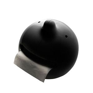 Wiper Toilet Roll Holder Blacknow featured on Fab