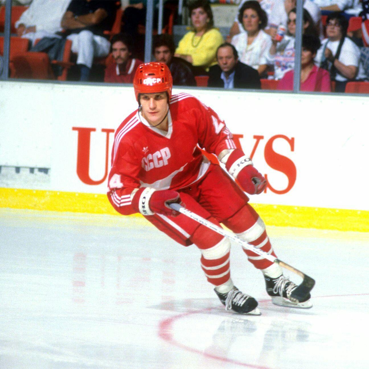 Sergei Makarov Soviet Red Army CCCP Hockey Hockey