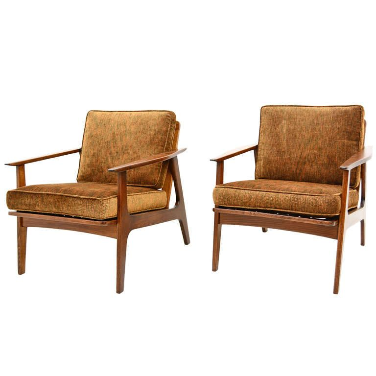 1stdibs Japanese Lounge Chairs Mid Century Modern Lounge