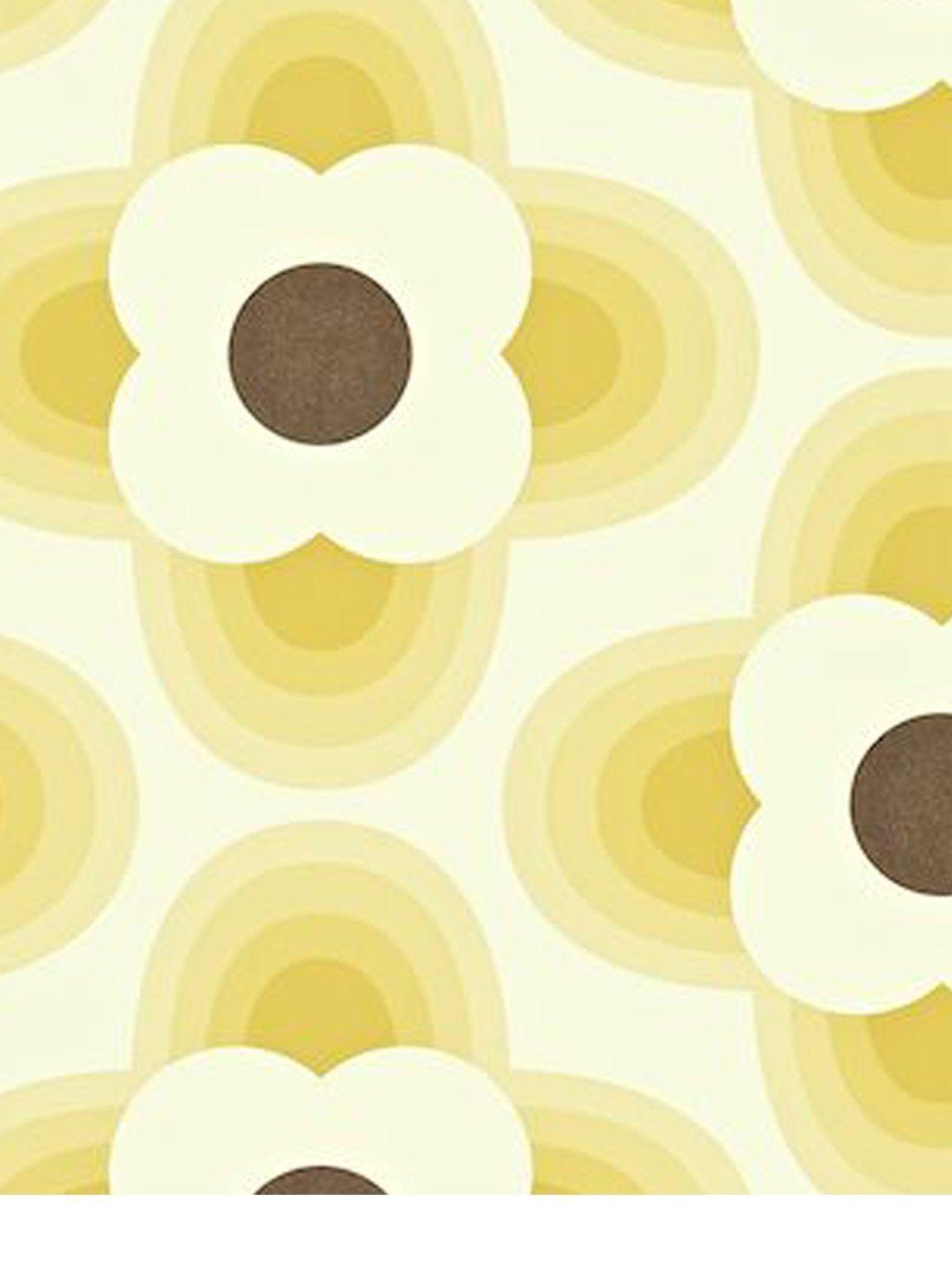 Orla Kiely House For Harlequin Striped Petal Wallpaper 110405