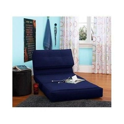 Chair Bed Kids Flip Chairs Sleeper Lounge Dorm Teen Bedroom