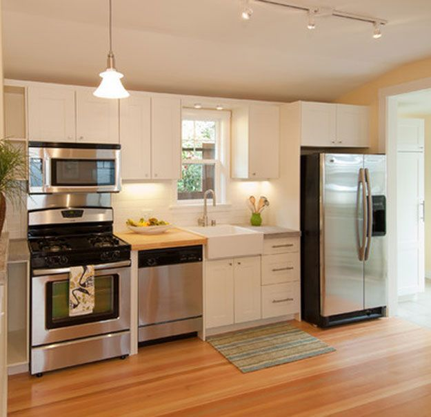 Charmant 25 Best Small Kitchen Ideas And Designs For 2017