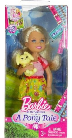 This Chelsea Doll plays the youngest child,Melondie,age:6