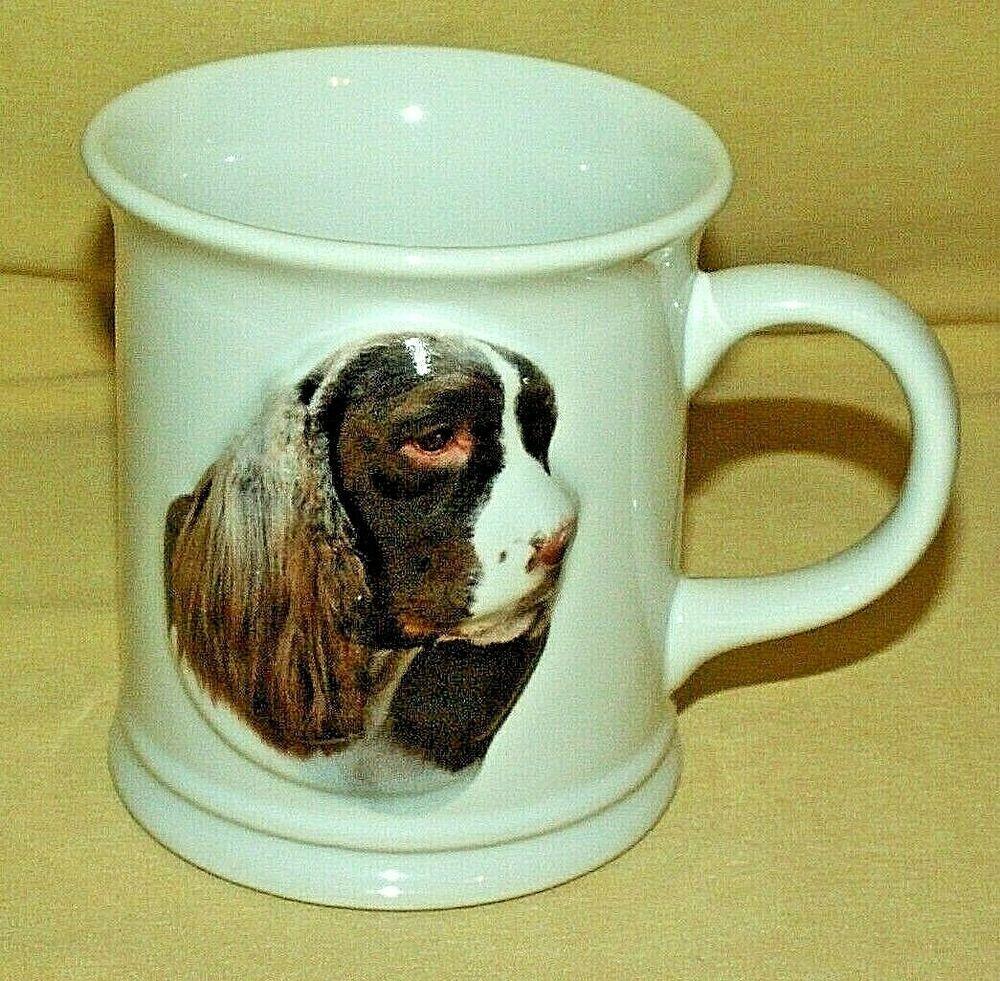 Springer Spaniel Mug Dog 3d Barbara Augello 1999 Xpres Best Friend