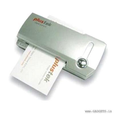 Plustek Opticard 611 Business Card Scanner Reader Business Card