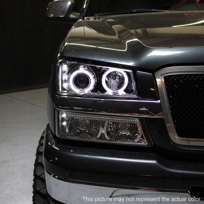 Halo Lights Chevy Silverado Parts Wheels Duramax Lifted