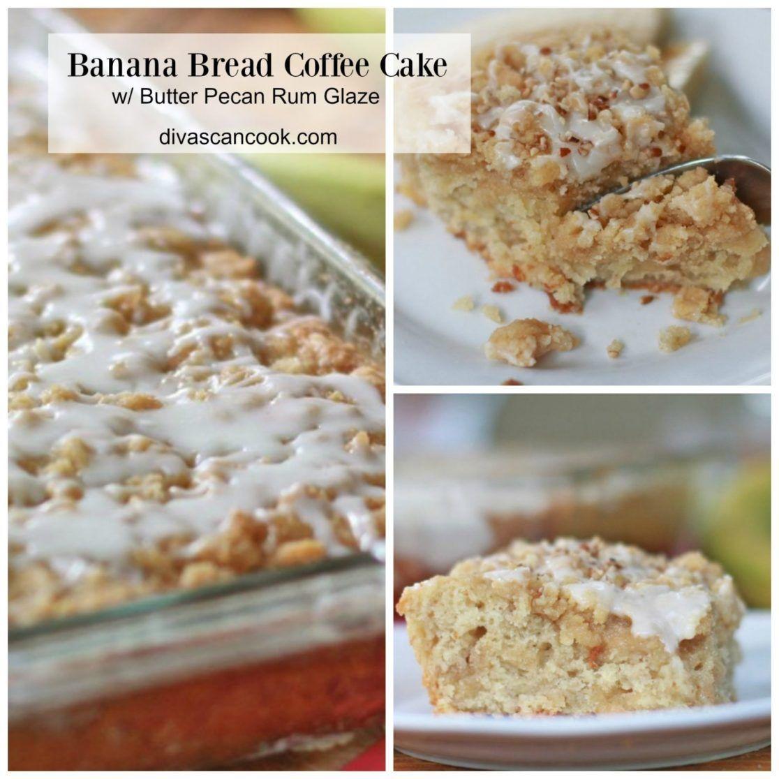 Banana Bread Coffee Cake Recipe Divas Can Cook Coffee Cake Coffee Cake Recipes Banana Coffee Cakes