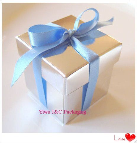Free Shipping Hot 2pc Shiny Silver Wedding Favor Boxes Event Sweet Candy Box Party Decoration Box Jco Silver Wedding Favors Wedding Favors Wedding Favor Boxes