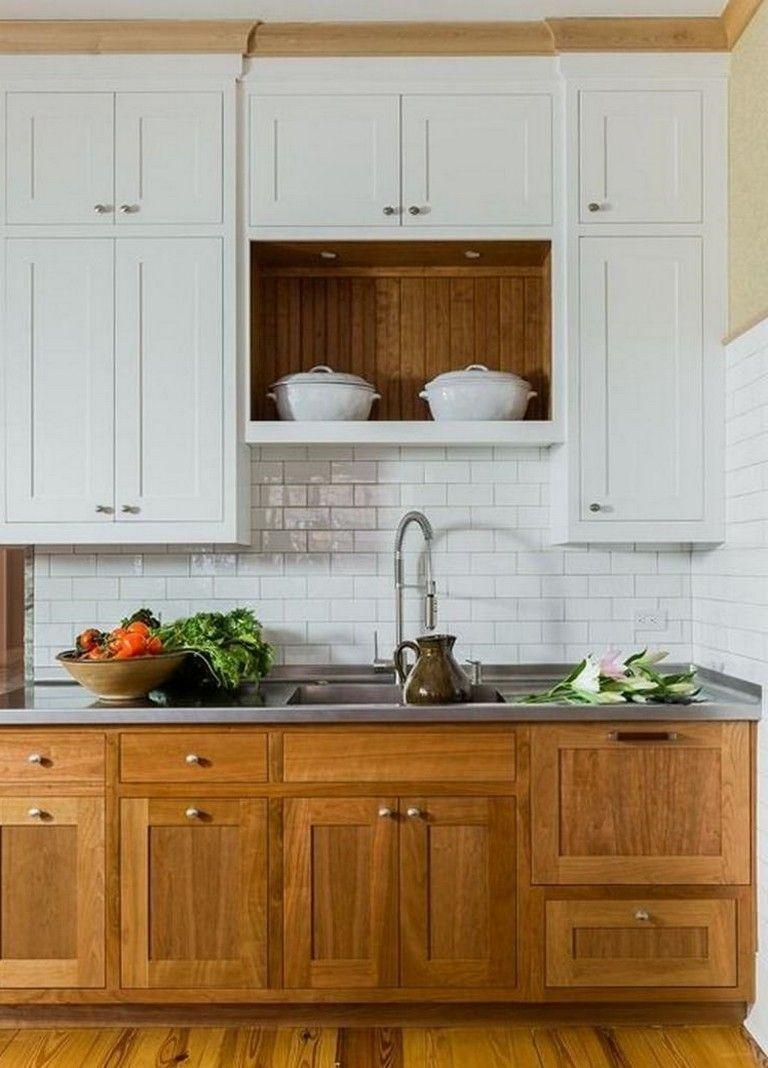 68 Fantastic Modern Farmhouse Kitchen Cabinets Ideas