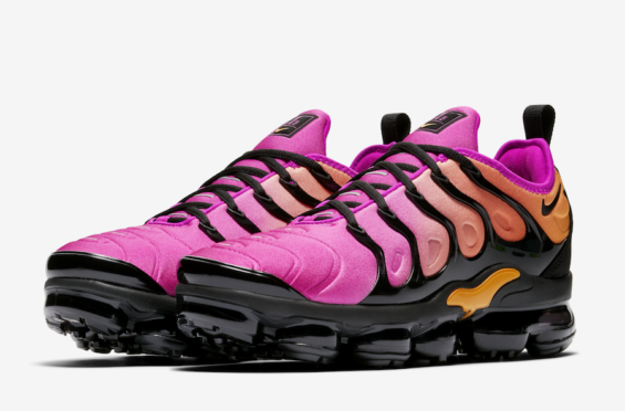 48c452585692d A New Pink And Orange Nike Air VaporMax Plus Is Releasing Soon ...