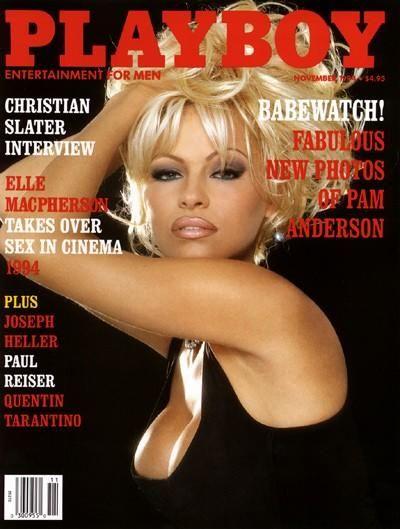 Pamela anderson playboy cover