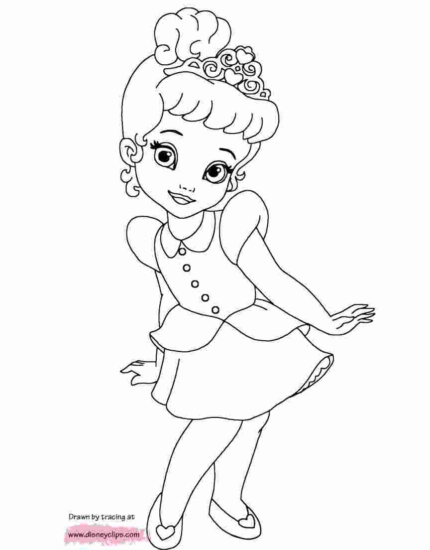 Coloring Pages Complex Coloring Pages Of Princesses As Babies