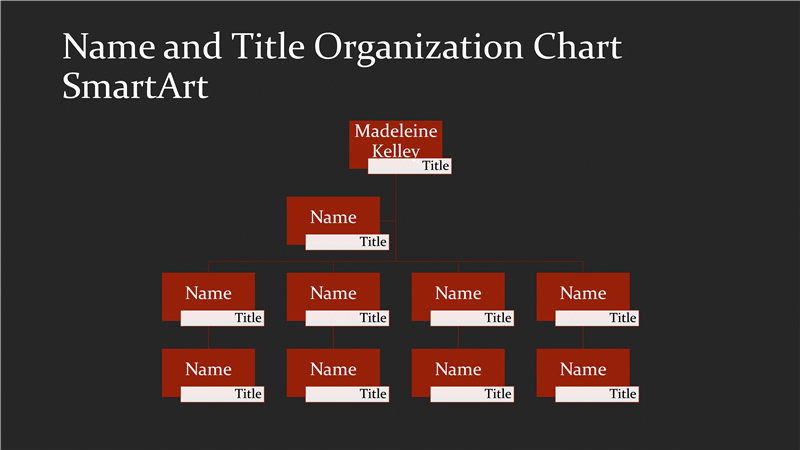 Download business organizational chart with name and title red on download business organizational chart with name and title red on black widescreen for toneelgroepblik Choice Image