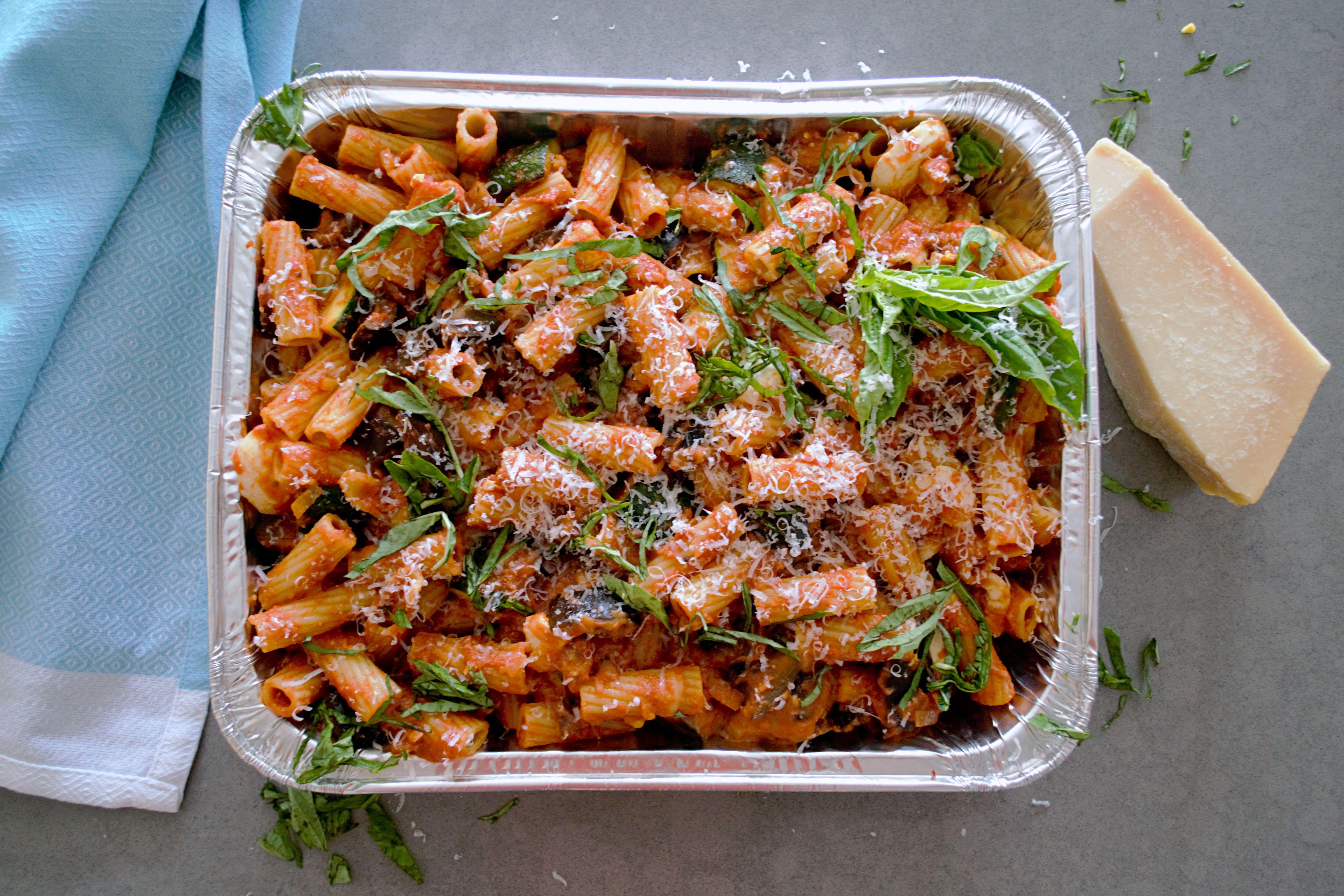 Pasta Al Forno – Vegetarian Italian Pasta Bake